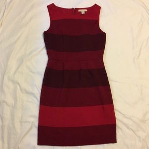 Banana Republic Factory red stripe dress